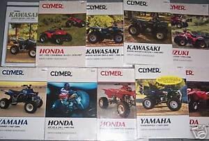 YAMAHA XT350 TT350 CLYMER REPAIR MANUAL XT TT 350 1985-00 CM-4803