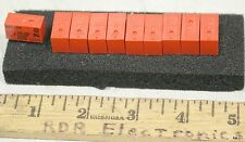 10 - NEC MR62-12USR 12VDC 12V DPDT Miniature DIP Relay 2A - NOS