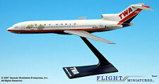 Twa trans world Airlines Boeing 727-200 1:200 modèle d'avion NEUF b727