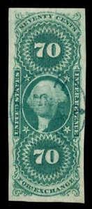 momen: US Stamps #R65a Revenue Used SUPERB PSE Cert