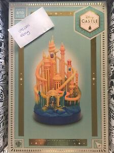 NEU Disney Arielle Ariel Castle collection Schloss mit Licht Light up limitiert
