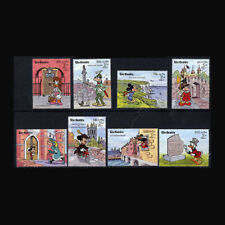Gambia Block79 complete Issue Never Hinged 1989 Walt-disney-f Unmounted Mint