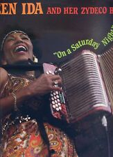 QUEEN IDA and her zydeco band ON A STARDAY NIGHT ex LP 1984 UK