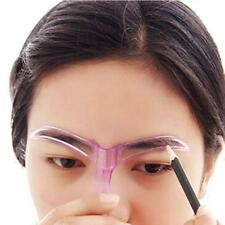 Chic Womens Ladys Makeup Cosmetic Grooming Drawing Blacken Eyebrow Template Tool