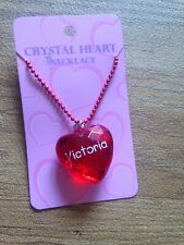 Necklace Heart Victoria Pentand Christmas Stocking Filler