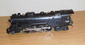 LIONEL #18053 2-8-4 BERKSHIRE STEAM ENGINE DIECAST LOCOMOTIVE ONLY O GAUGE TRAIN