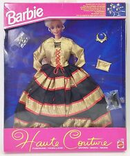 BARBIE HAUTE COUTURE GOLD & BLACK GOWN NRFB