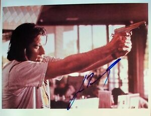 JOHN TRAVOLTA:  Hand-signed photo from 'Pulp Fiction'. 'Grease', 'Get Shorty'.
