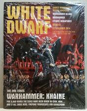 Warhammer White Dwarf Games Workshop's Weekly Magazine Issue 43 Nov 22 2014