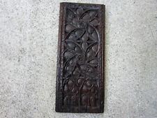 Panneau gothique .Haute epoque,bois sculpté,boiserie,panneau bois,collections.