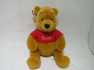 Disney Winnie The Pooh Plush - Medium - 12 Inch- NEW