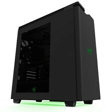 NZXT H440 2015 SPECIAL EDITION ATX Gaming USB 3.0 Black Green PC CASE-racchiusa nel riquadro