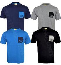 Crew Neck Short Sleeve Striped Regular Size T-Shirts for Men