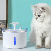 2.5L Cat Water Fountain Stainless Steel Automatic Pet Water Drinking Fountain