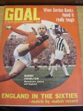 27/12/1969 GOAL SOCCER WEEKLY Magazine: N. 073-Inghilterra negli anni Sessanta-MATCH