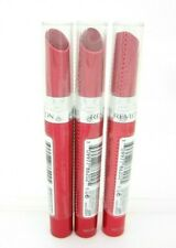 Revlon Lipstick Red Ultra HD Gel Lipcolor Lot of 3 Sealed #745 Rhubarb