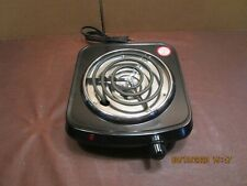 MAINSTAYS SINGLE BURNER HOTPLATE, MODEL# ME102-U2