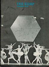 Der Kump, Paderborner Monats-Schau Paderborn Januar 1973, Fremdenverkehr, Kunst