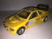 Miniature Peugeot 405 T16 turbo 16 Dakar Burago 1/24