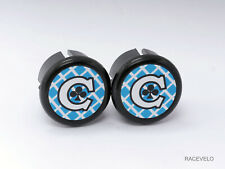 Colnago mexico Plugs Caps guidon tapones bouchons lenker vintage style flat New