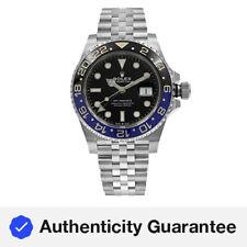 Reloj de Pulsera Rolex Gmt-master Ii Batgirl Acero de Jubileo de cerámica 126710 blnr