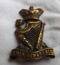 An Original Military Victorian Irish / Ulster Rifles Regiment Cap Badge (2046)