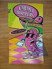 TACO CABANA Cabana Hoppers Checkers Game for Kids 2008
