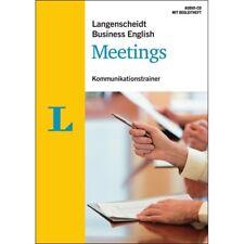 ENGLISCH lernen für Beruf und Job - Hör- & Sprechtraining: Meetings