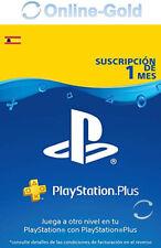 PlayStation Plus Tarjeta 30 Días Sony PSN PS3 PS4 PS Vita 1 Meses Suscripción ES