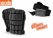Scruffs Knee Pad and Belt Pack Kit Mens Work Trade Trousers Worker Plus 3D Trade