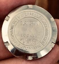 Vintage Blancpain Fifty Fathoms Aqua Lung 1 piece caseback