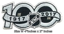 100 years NHL Hockey 1997-2017 Sport Patch Logo Embroidery Iron,Sewing on cloth