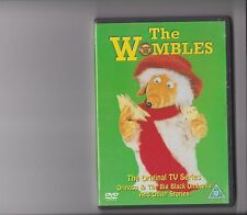 THE WOMBLES ORINOCO AND THE BIG BLACK UMBRELLA DVD 12 EPISODES RETRO KIDS