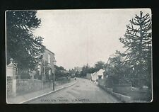 Somerset ILMINSTER Station Rd pre1919 PPC by Chapman