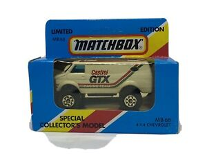MATCHBOX  LIMITED  EDTION  1981  MB 68  4X4 CHEVROLET  CASTROL GTX Racing Team