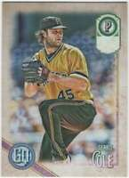 2018 Topps Gypsy Queen Missing Team Name Parallel #131 Gerrit Cole Pirates