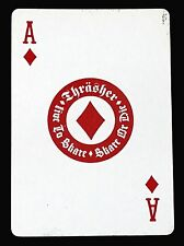THRASHER Single Playing Card ACE OF DIAMONDS High Speed Prod Copyright