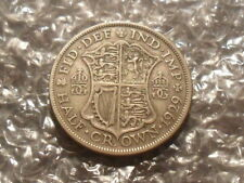 1929 George V half-crown.