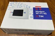 ROUTER WIFI PORTATILE  TIM MODEM 4G WI-FI LTE - BIANCO (MF920V)