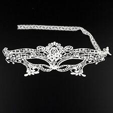 Wonderful Venetian White Lace Eye Mask Masquerade Fancy Dress Party Mask HY