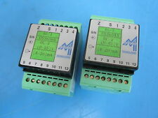 Lot of 2 Mescon Technologies 40/3 DC 0-85v 4-20 mA with Phoenix Contact 35.75