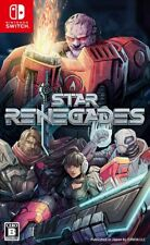 NINTENDO SWITCH STAR RENEGADES Japan NEW GAME SOFT