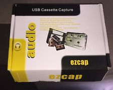 EZCAP USB Cassette-to-MP3 Converter Capture Audio Music Player New