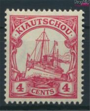 Kiaochow (China) 30b met Fold 1909 Schip Imperial Yacht Hohenzollern (9290555
