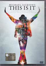 MICHAEL JACKSON - this is it DVD