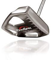 """Medicus Overspin CM2i Cast CS Aluminium Insert Mallet Golf Putter Right Club 35"""""""