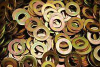 (150) Hardened 3/4 Flat Washers F436 SAE Grade 8 - Yellow Zinc Plated Thru-Hard