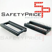 "10x Zocalo integrado 32 PINs DIP 32  Socket doble contacto 0,6 "" (15,24 mm)"