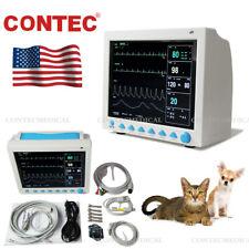 Contec Veterinary Pet Vet Patient Monitor 6 Parameter Icu Vital Signs Machineus