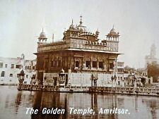 THE GOLDEN TEMPLE AMRITSAR VINTAGE PHOTOGRAPH BLACK & WHITE IMAGE COLLECTIBLES